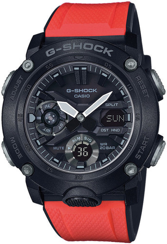 G-SHOCK G-Carbon LIMITED (GA-2000E-4ER)