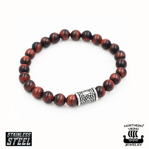 Rannekoru Tiger Eye Knotwork